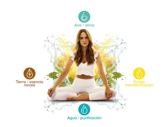 Cuatro elementos, conectados con la vida